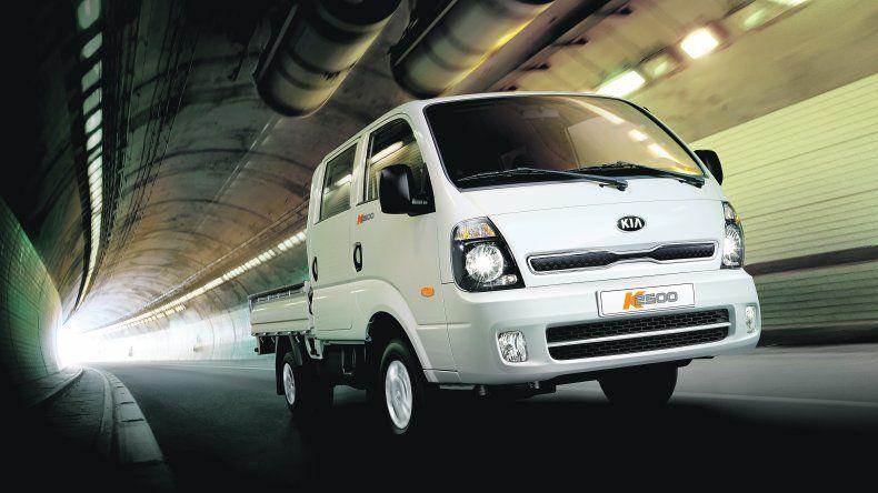 Kia K2500: Versión doble cabina