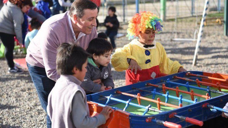 En los barrios 30 de Octubre y  Moreno se festejó el Día del Niño