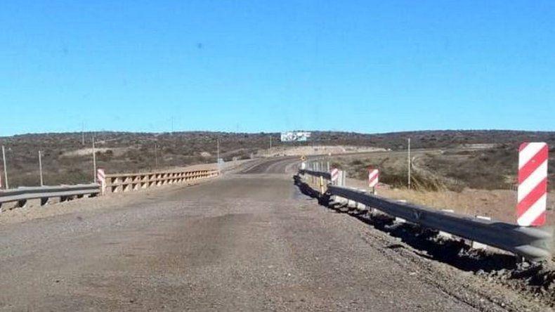 El puente de Arroyo Verde sigue con las reparaciones provisorias