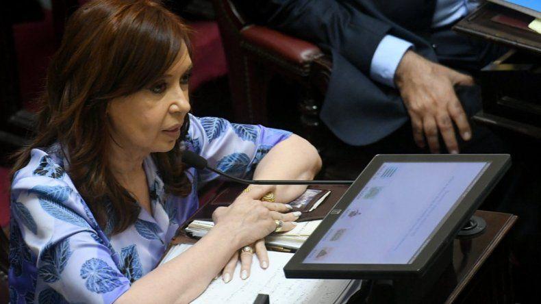 Cristina acusó a Bonadio de persecución y le apuntó a la familia Macri