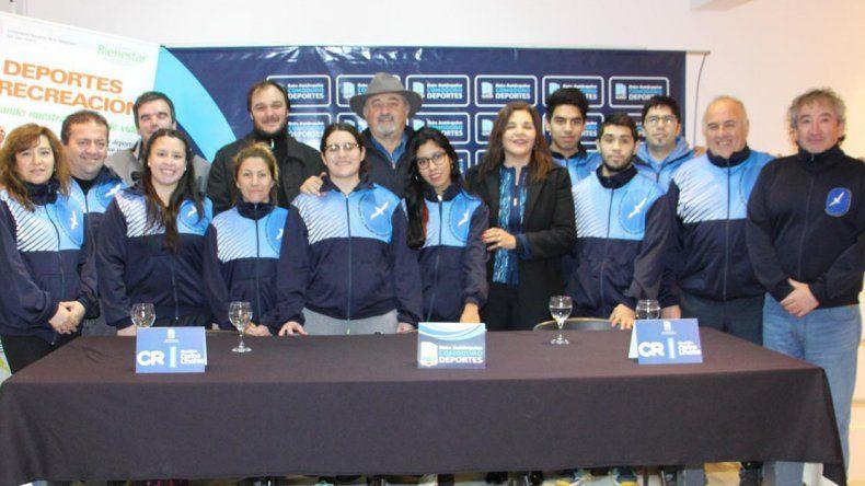 El viernes fueron presentados los Juegos Intersedes Universitarios que se llevarán a cabo en Comodoro Rivadavia.
