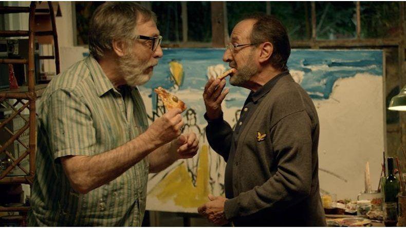Trabajaron juntos en TV en El Hombre de mi Vida; ahora Brandoni y Francella se reencuentran en el cine.