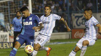 Atlético Tucumán se lo empató a Racing en el final