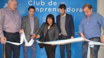 inauguraron el club de emprendedores de comodoro rivadavia