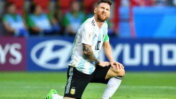 Messi no volverá a jugar este año en la Selección