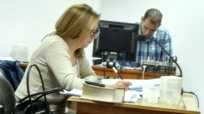 La fiscal Laura Castagno compartió la iniciativa de resolver la causa judicial mediante un juicio abreviado.