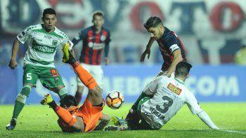 San Lorenzo perdió como local en la ida, pero ganó los puntos por cuestiones reglamentarias.