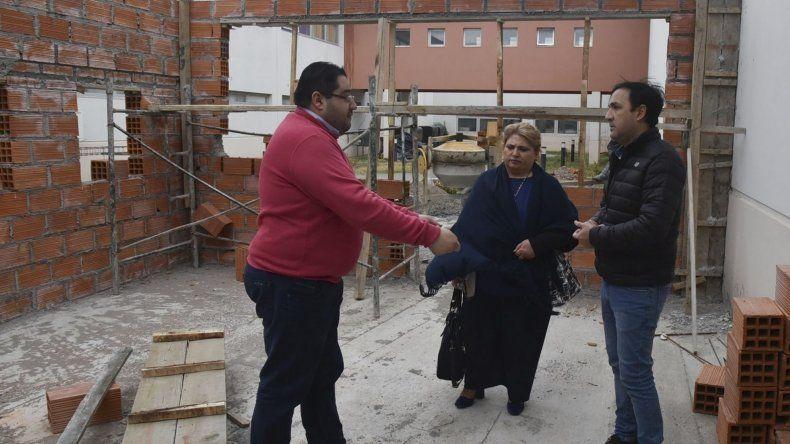 El director administrativo del Hospital Zonal de Caleta Olivia