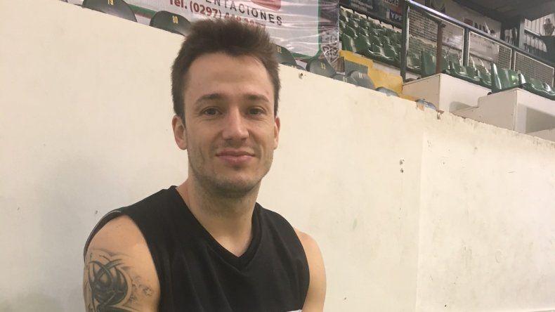 El rionegrino Lucas Pérez es otra de las caras nuevas que se sumó a Gimnasia y Esgrima de Comodoro Rivadavia.