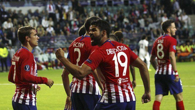 Diego Costa fue el encargado de abrir el marcador en el partido definitorio.