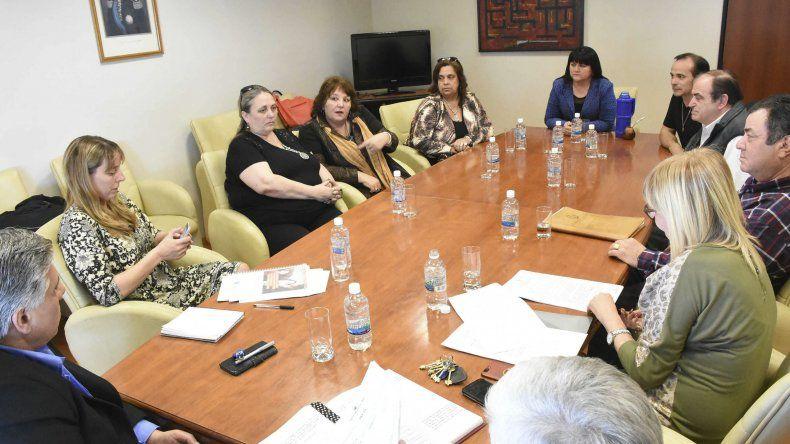 Legisladores se reunieron con ASA FILAP de Comodoro Rivadavia para trabajar en un proyecto de ley que busca crear un programa provincial de asistencia a pacientes con labio leporino.