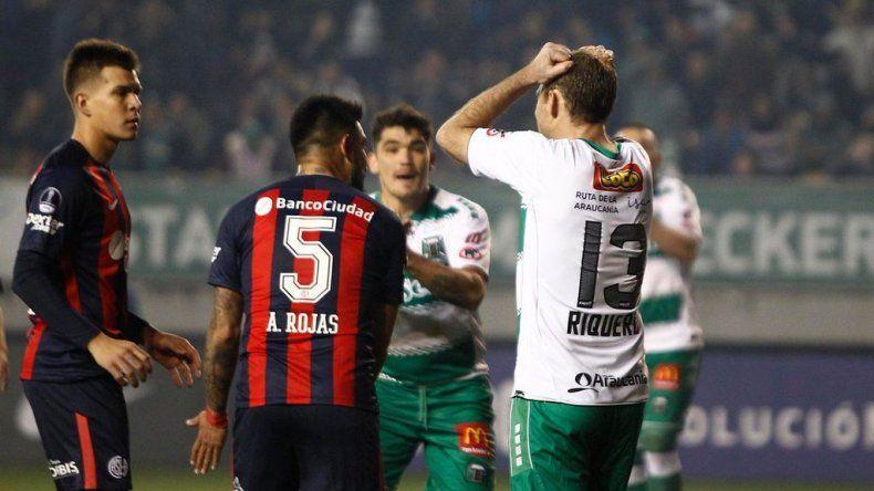San Lorenzo perdió en Chile, pero se clasificó a octavos de final