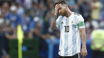 argentina salio del top ten para la fifa