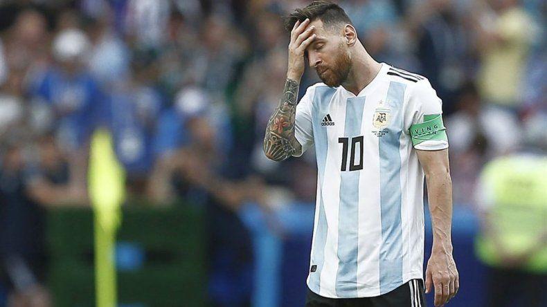 Argentina salió del Top Ten para la FIFA