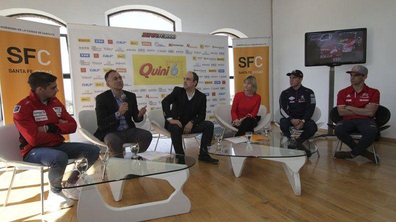 El miércoles se hizo la presentación oficial de la octava fecha del campeonato del Super TC2000 que se correrá en Santa Fe.