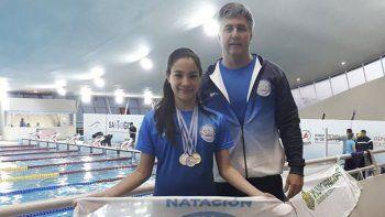 Catalina Rodríguez tuvo un comienzo soñado, con tres medallas en igual cantidad de presentaciones.
