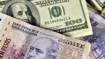 el dolar bajo 29 centavos y se ofrecio a 30,39 pesos