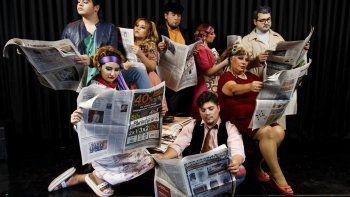 El grupo Amakaik presentará hoy la obra Vengo por el aviso en el Teatro Español.