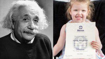la nina genia: tiene tres anos y es mas inteligente que einstein