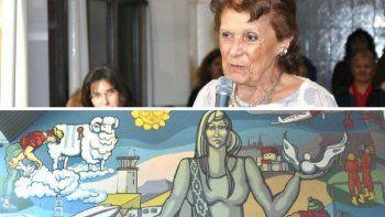no se derogara la ordenanza que declara al mural patrimonio cultural