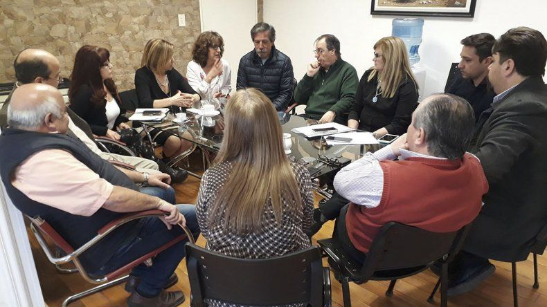 El encuentro que concejales mantuvieron con familiares de Dolores Ocampo de Morón.
