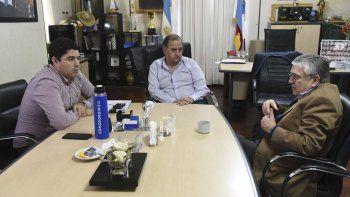 linares y pais coordinan una agenda en conjunto para el proximo encuentro patagonico en comodoro