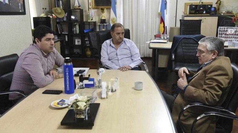 Linares y Pais coordinan una agenda en conjunto para el próximo encuentro patagónico en Comodoro