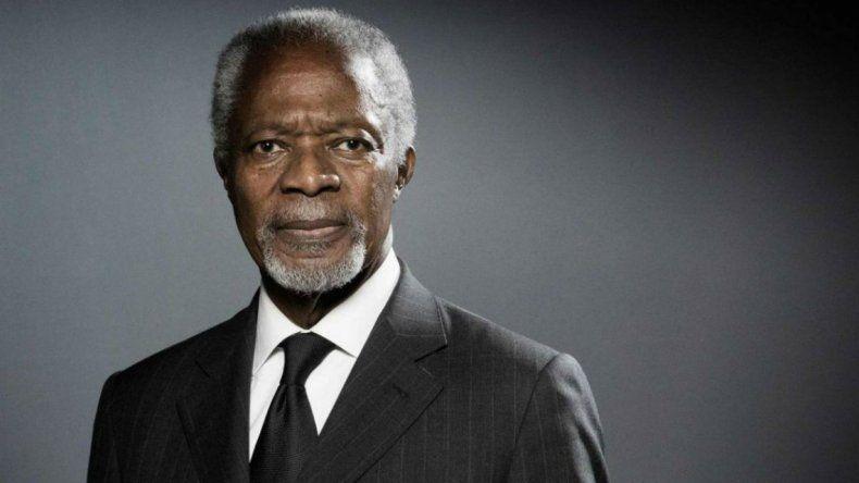 Murió el ex secretario de la ONU y Premio Nobel de la Paz, Kofi Annan