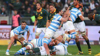 Los Pumas no pudieron con la potencia de Sudáfrica.