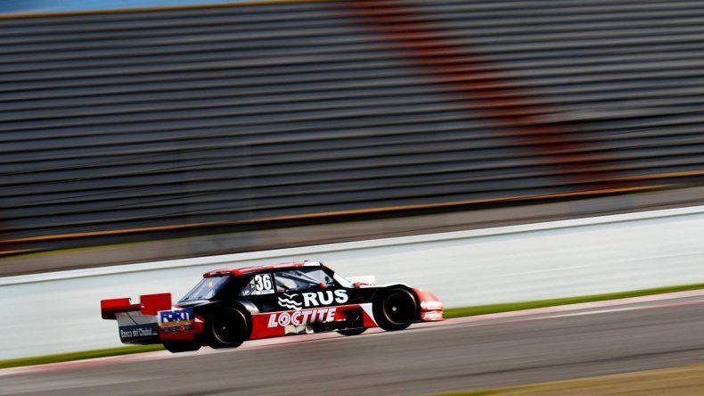 El Torino de Gustavo Micheloud que ayer se ubicó undécimo durante la novena final del TC Pista.