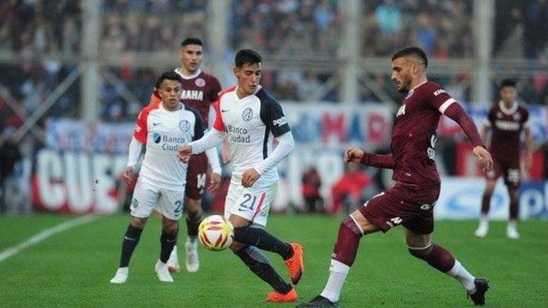 San Lorenzo y Lanús empataron en un partido interesante