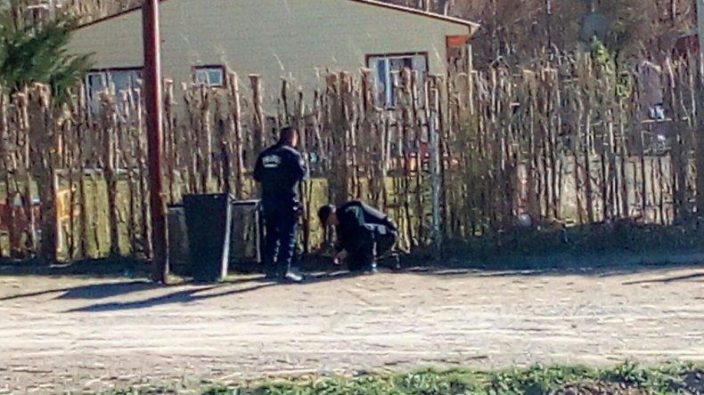 Apareció una granada en barrio Los Tres Pinos