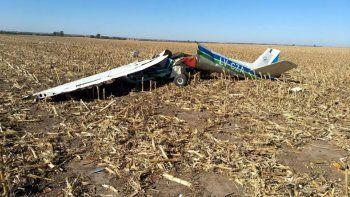 un joven comodorense murio en un accidente aereo en cordoba