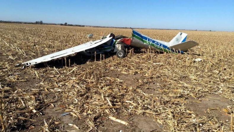 Un joven comodorense murió en un accidente aéreo en Córdoba