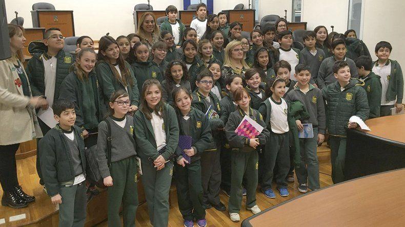 Alumnos del Martín Rivadavia visitaron el Concejo Deliberante