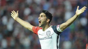 Nicolás Blandi intentará esta tarde aportarle su cuota goleadora a un San Lorenzo que necesita mejorar su juego.