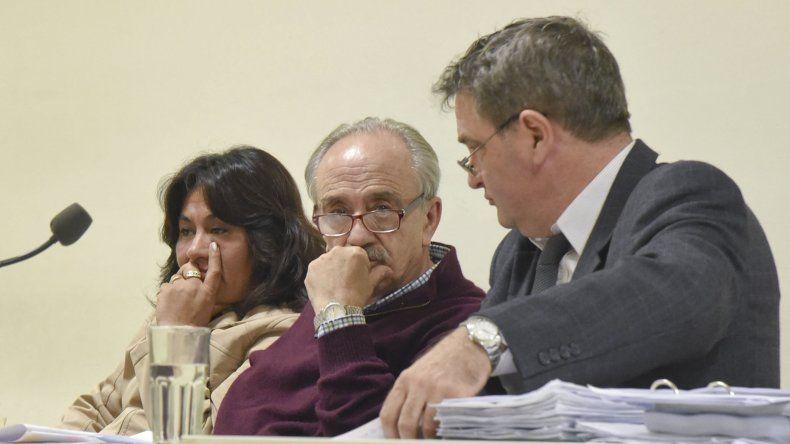 Barrientos y Mantuano durante el juicio de primera instancia.