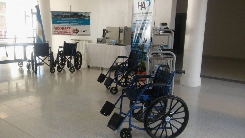 La Fundación Marcelino Reyes entregó nueva tecnología al Hospital Alvear
