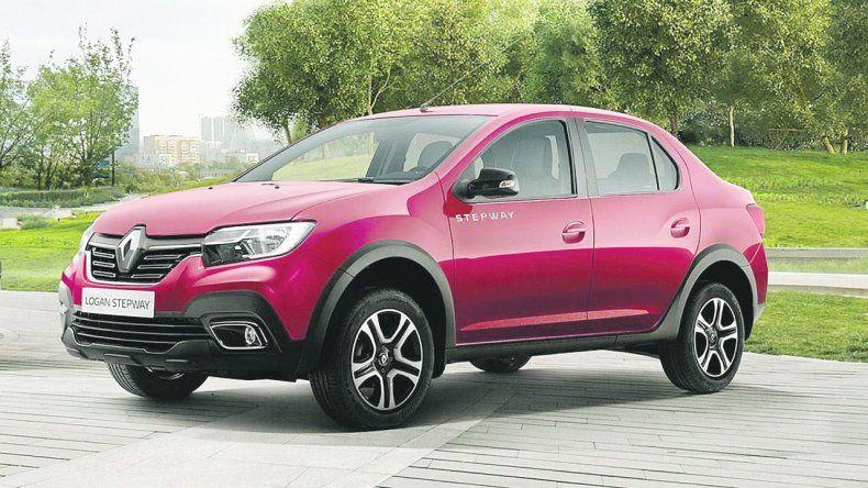 Renault Logan: Versión Stepway para el sedán