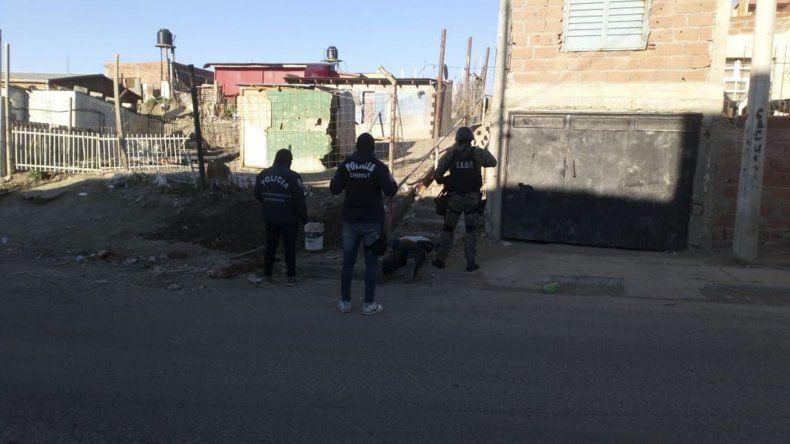 La Brigada secuestró ayer un revolver
