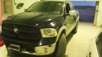 Incautaron una Dodge Ram  por una denuncia de estafa