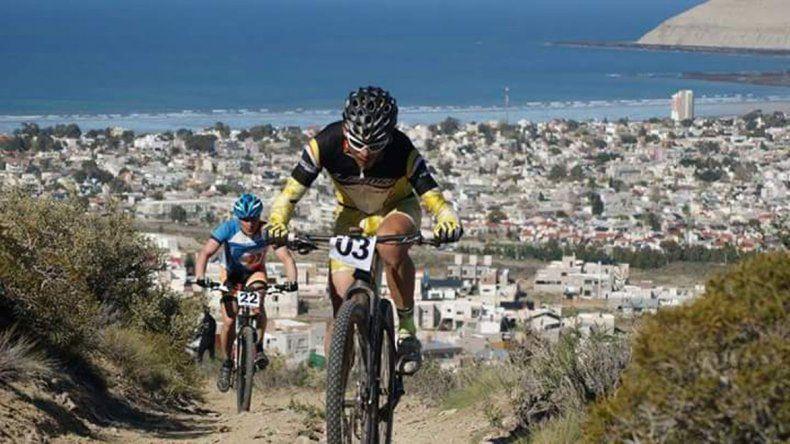 El ciclismo de montaña se presentará hoy en Rada Tilly.