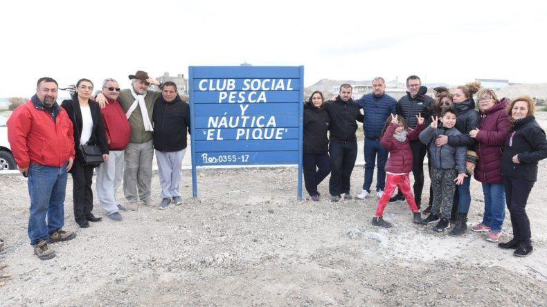 El Club El Pique inauguró la primera etapa de la construcción de su sede