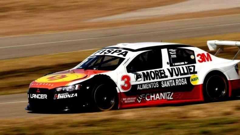 Franco Girolami venció en la segunda carrera de Top Race
