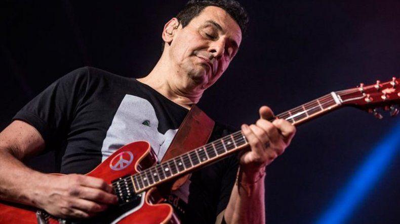 Ricardo Mollo criticó al Gobierno durante un show de Divididos