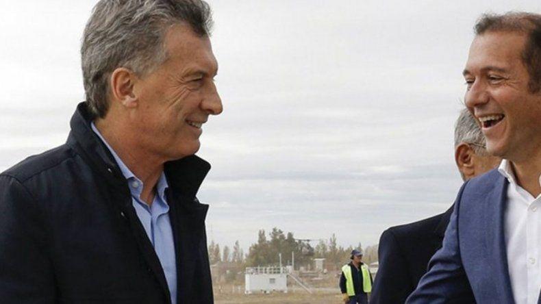El presidente Mauricio Macri recorre Vaca Muerta con el dueño de Techint