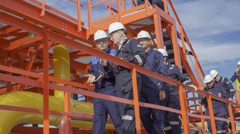 No vamos a parar hasta exportar u$s 30 mil millones en gas y petróleo