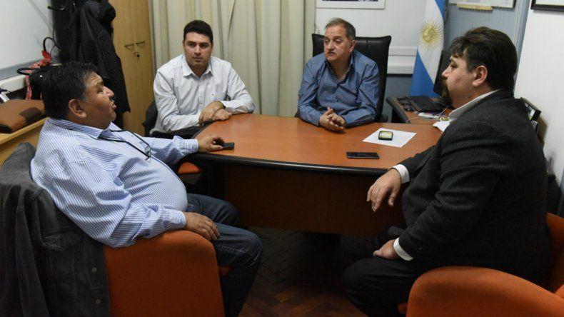 Linares y Avila se reunieron previo al encuentro del Bloque de Unidad Patagónico