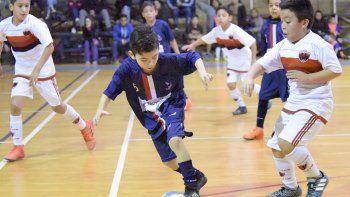 Los más pequeños también tuvieron acción el fin de semana en el gimnasio municipal 2.