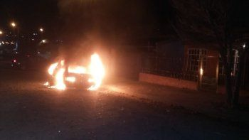 Incendiaron un auto que sería robado